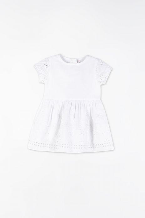 Kleid aus Gewebe