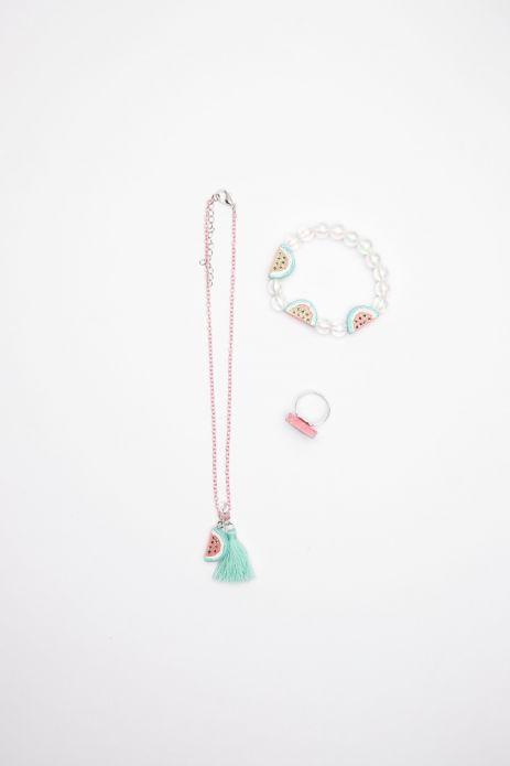 Halskette, Armband und Ring