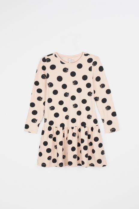 Kleid aus Strickwaren