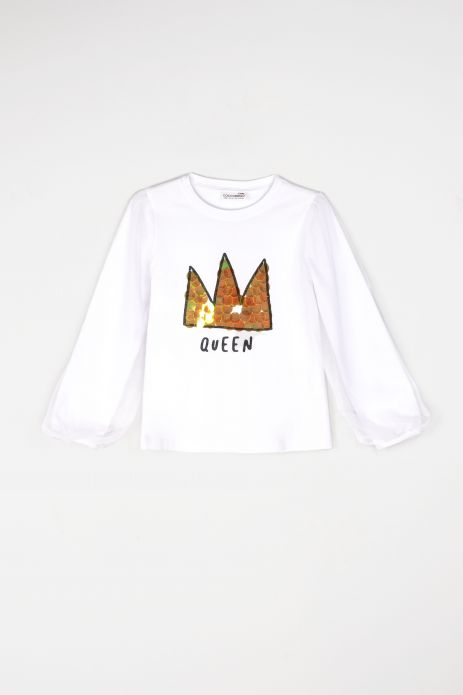 T-Shirt mit langen Ärmeln