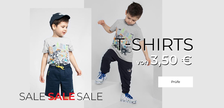 T-Shirts von 3,50 € DE