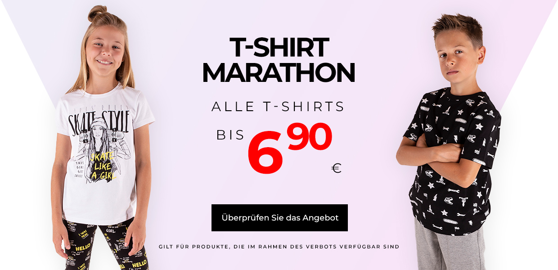 Maraton t-shirtow DE
